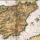 Mapa de la penc3adnsula ibc3a9rica siglo xvi