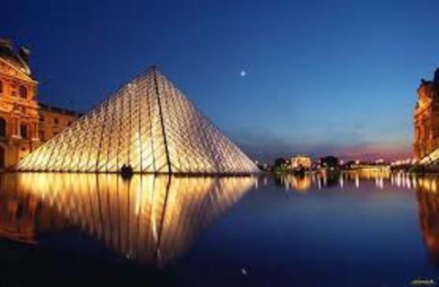 Γυάλινη πυραμίδα του Λούβρου