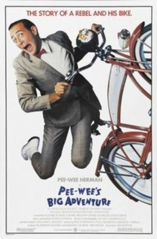 Pee- wee's big adventure