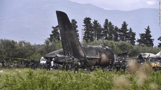 Algerian Air Force Plane Crash