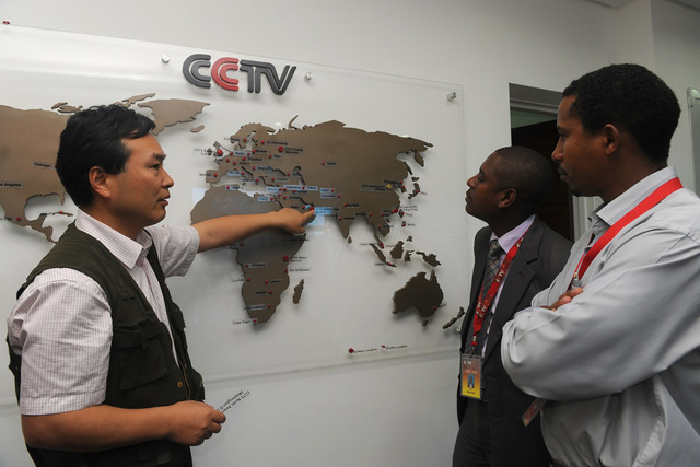 China Buying African Media Influence