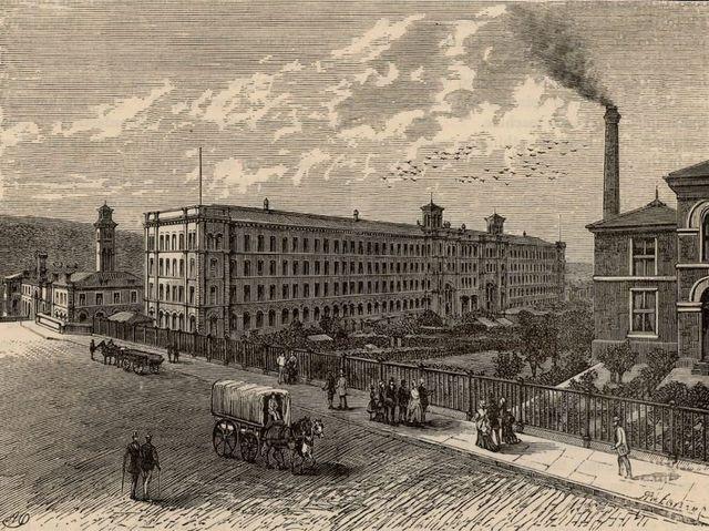 Primera máquina de vapor en España.