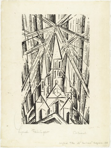 Lyonel Feininger - Cathedral