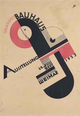 Joost Schmidt - Exhibition Poster