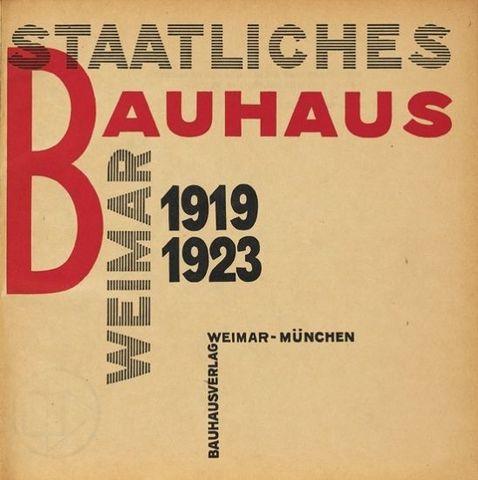 László Moholy-Nagy - Staatliches Bauhaus im Weimar 1919 - 1923