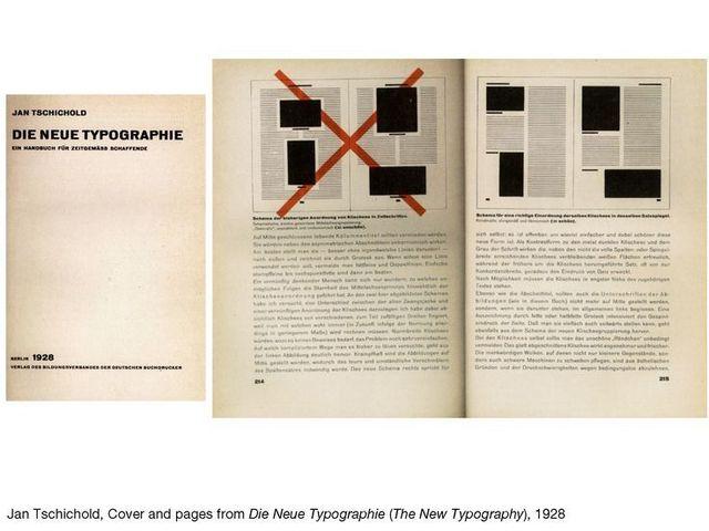 Jan Tschichold - Die neue Typographie