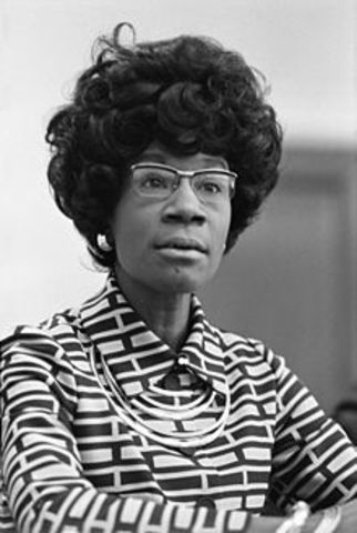 First African American Woman in Congress