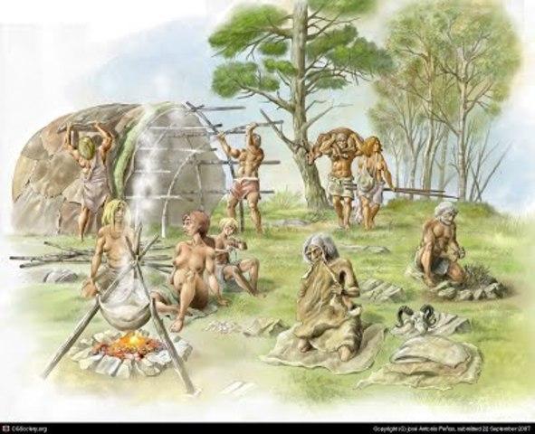 Los pueblos primitivos.