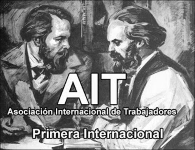 Primera Asociación Internacional de los Trabajadores.
