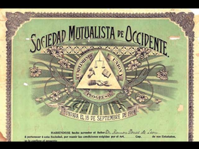 Sociedades Mutualistas.