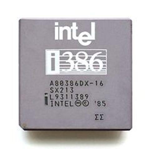 Intel 80386 1985