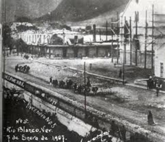 HUELGA TEXTIL DE RIO BLANCO VERACRUZ