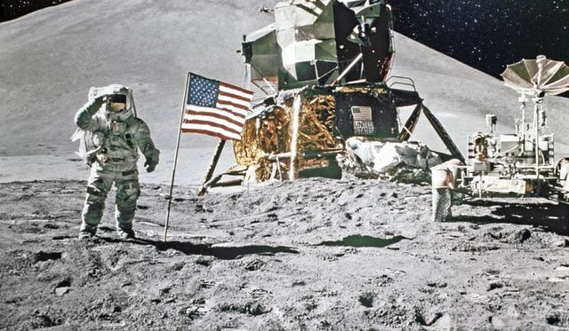 The Apollo 11 Moon Landing