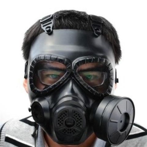 Mascara de gas moderna