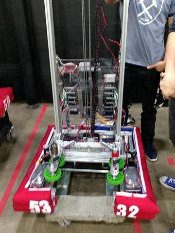 Ingresé a equipo robótica