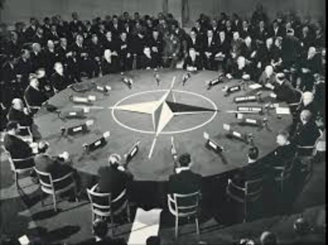 The formation of NATO
