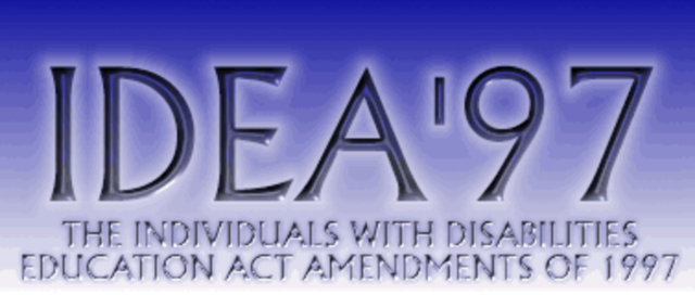 Individuals with Disabilities Education Act (IDEA) 1997