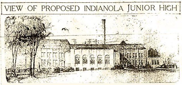 First junior high school opens - Indianola Junior High