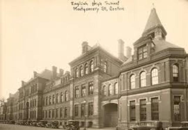 Boston English High School