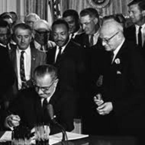 The Civil Rights Act Becomes Law