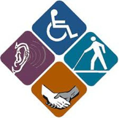 1990 The Americans with Disabilities Act (ADA)