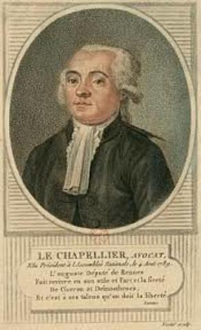 Ley de Chepalier