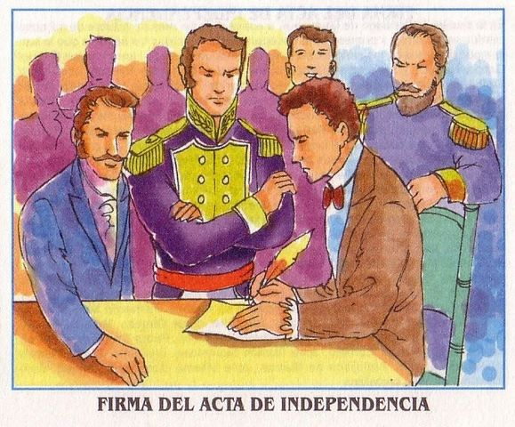 El documento oficial que confirma la independencia