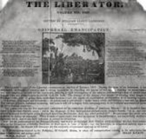 William Lloyd Garrison Published The Liberator