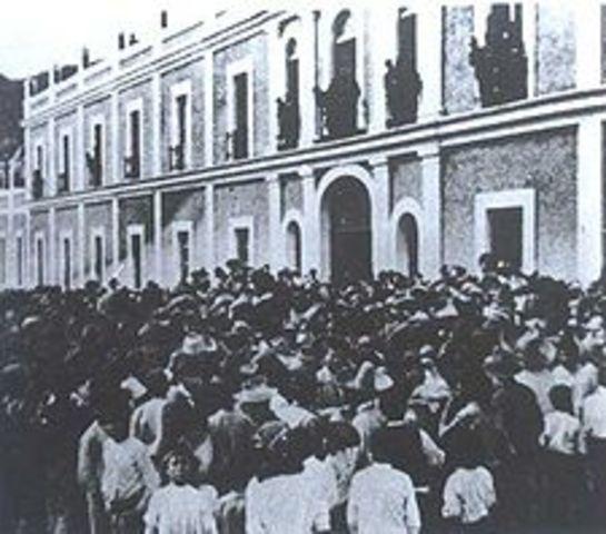 La Huelga de Río Blanco.