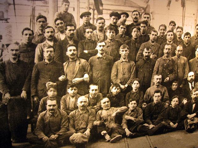 Primera asociación de obreros