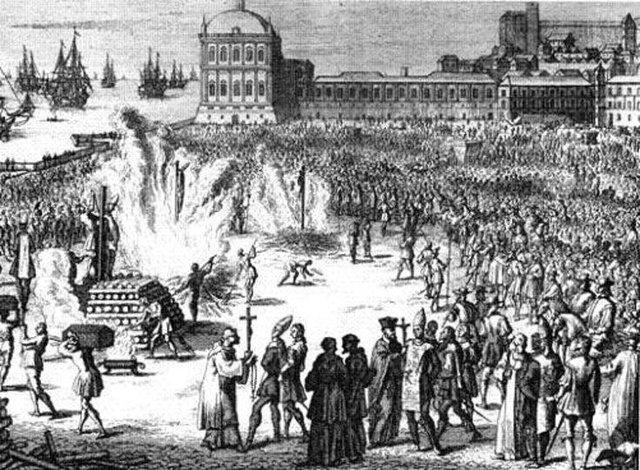 Penas durante el Virreinato (1521-1810)