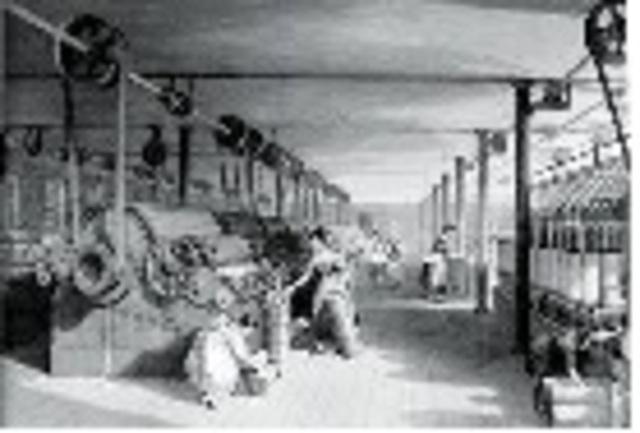 Prima rivoluzione industriale in Inghilterra