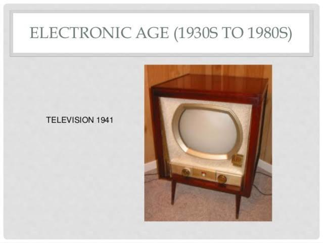 ELECTRONIC AGE