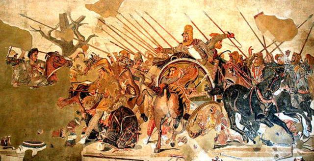 Alejandro Magno muere en Banilonia