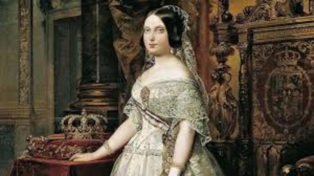 Mayoría de edad Isabel II