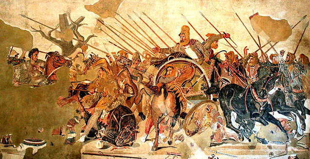 Alejandro Magno comienza a conquistar Persia