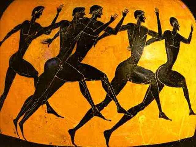 Celebración de los primeros Juegos Olímpicos (Originales)