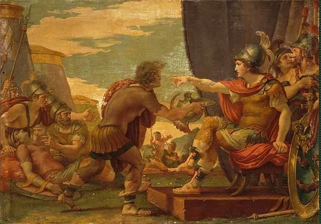 Alejandro Magno se convierte en el rey de Grecia