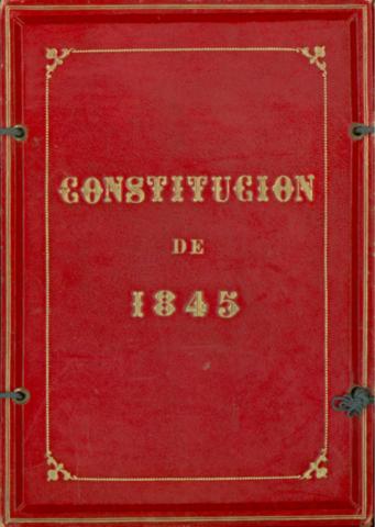 CONSTITUCIÓN DE 1845: