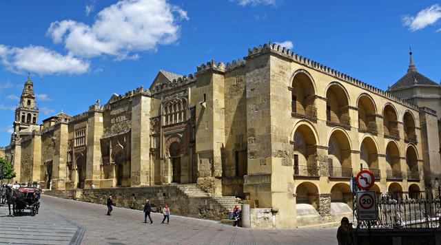 Inici obres mesquita de Còrdova