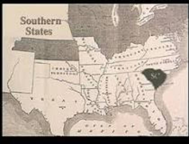 South Carolina Seceded from the Union