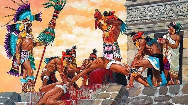 Sacrificios en Chichén-Itzá