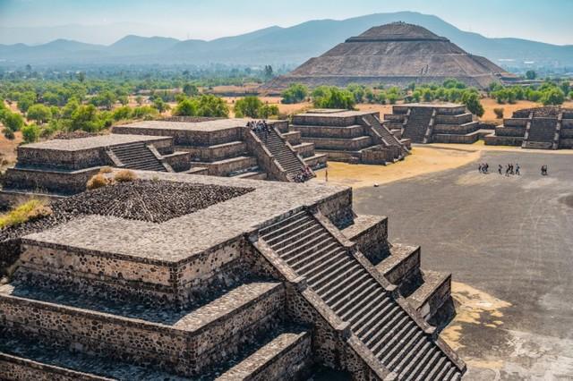 Teotihuacan: ciudad más poblada