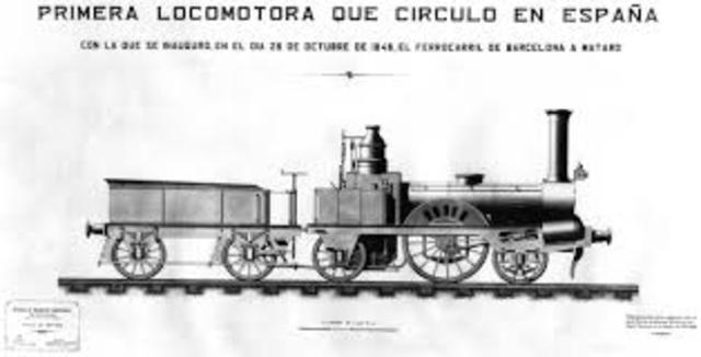 PRIMERA MÁQUINA DE VAPOR EN ESPAÑA (1833).