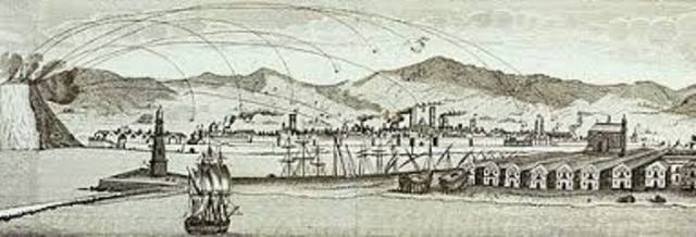 BOMBARDEO DE BARCELONA (1842).