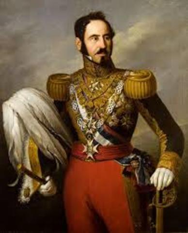 REGRESO DE ESPARTERO (1854).