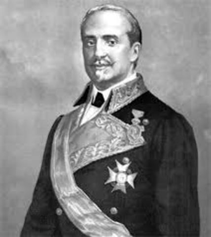 O´DONELL SUSTIUYE A ESPARTERO COMO JEFE DE GOBIERNO (1856).