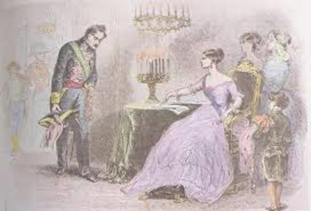 NUEVO GOBIERNO MODERADO DE NARVÁEZ (1856).