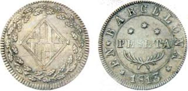 LA PESETA, UNIDAD MONETARIA ESPAÑOLA (1868).