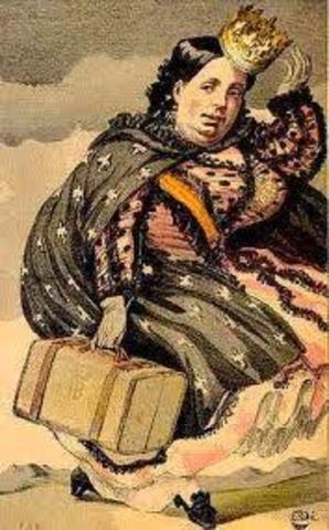 """REVOLUCIÓN: """"LA GLORIOSA"""". EXILIO DE ISABEL II (1868)."""